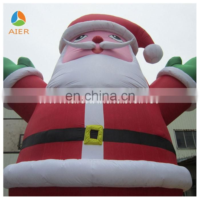 inflatable forChristmas/giant inflatable father christmas