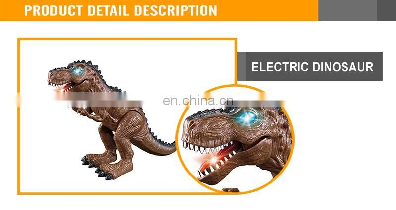 Cool battery operated plastic dinosaur