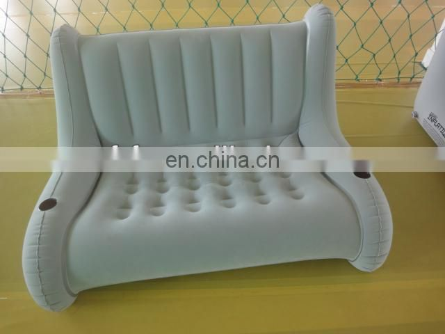 Inflatable Double Flocked Sofa Chair