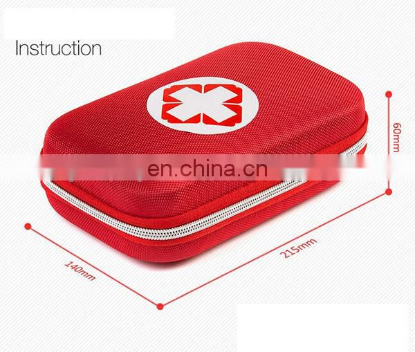 OEM Factory Popular plastic case first aid kit