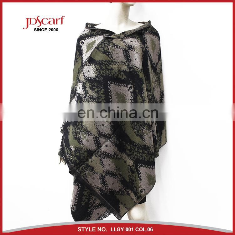 Hot sale pashmina blanket scarf for wholesalers