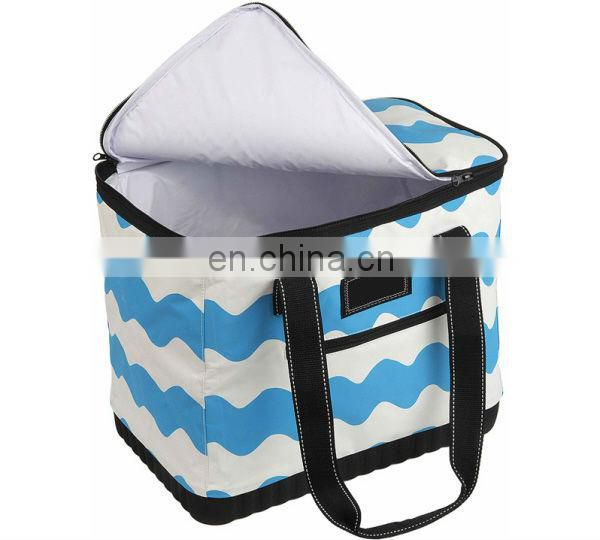 Small polyester picnic tote
