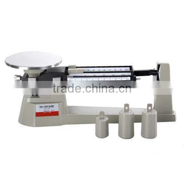 Triple Beam weighing Balance scale for lab