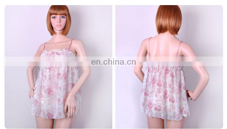 Factory Direct Sale Pretty Sweet Girl Transparent Bulk Camisole Tops