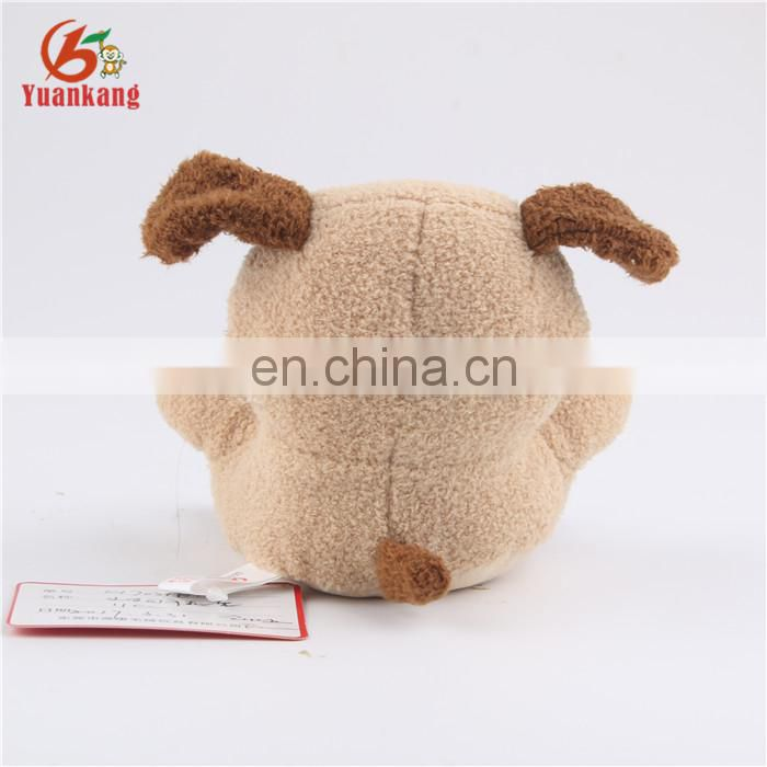 11cm stuffed toy dog animal plush mobile phone holder