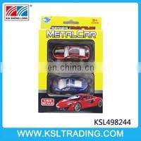 High quality truck with mini diecast model car toy for sale