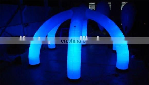 """C"" inflatable LED decoration"