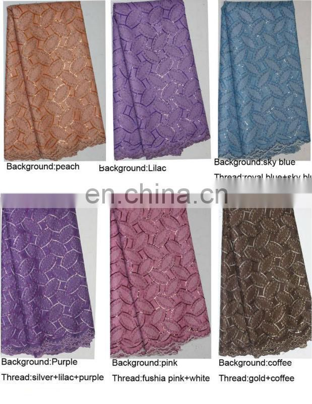 2014 african lace styles organza