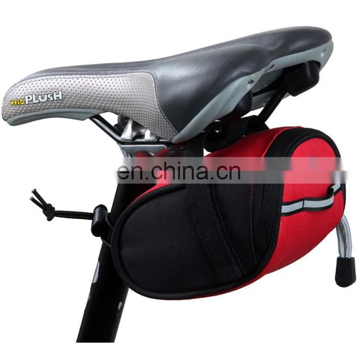 Mountain Bike Bag 600D multi-functional Oxford Seat Trunk Bag/bike seat bag