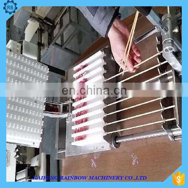 Long Service Life High Quality Chicken/Seafood Making/Skewer Machine