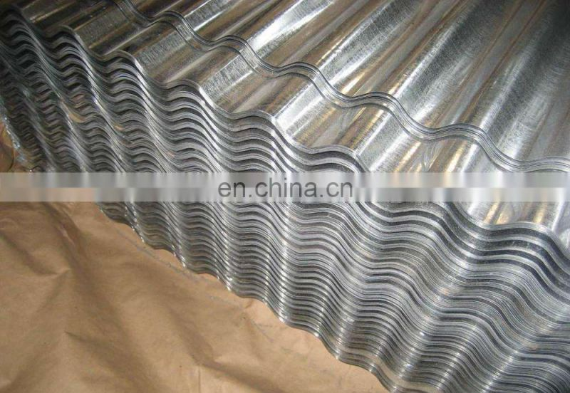 China Supplier Corrugated Steel Hoarding Sheets Zinc Coated Steel