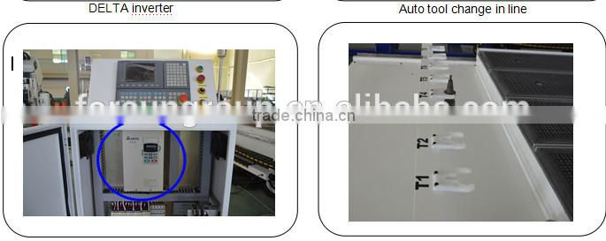 Selling 3 axis 3D ATC working machine/1500*3000*200mm woodworking auto tool change 3d cnc router