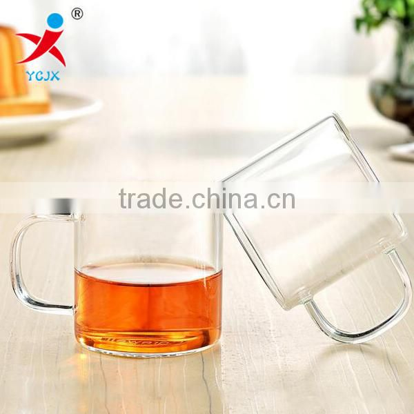 Good quality handmade borolisicate glass with stained hand