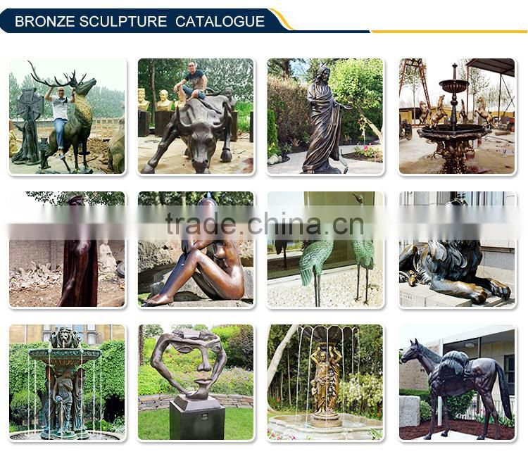 Park decoration Life Size Bronze Horse Statue for sale