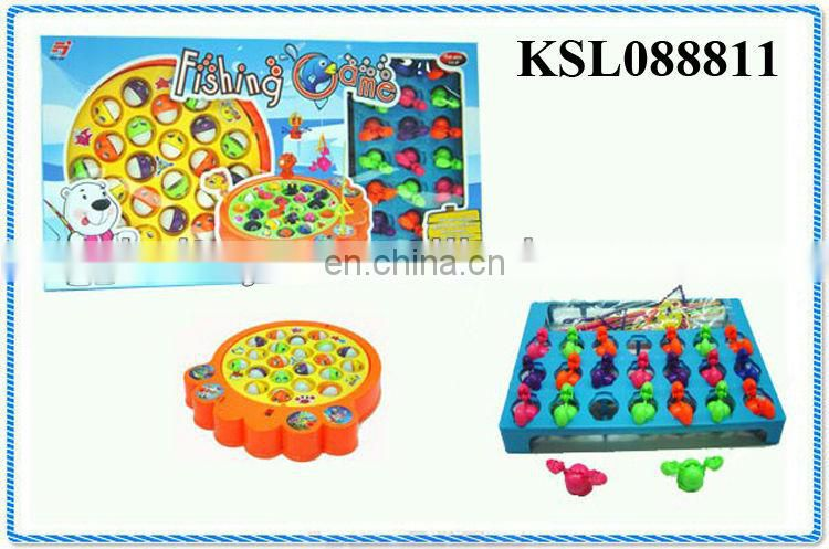 children plastic toy fishing set for kids