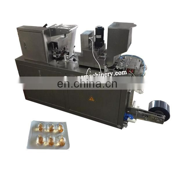 DPP80 Electronics PVC Aluminum Foil Blister Jelly Snack Yogurt Chocolate Cheese Milk Slices Pill Capsule Packing Sealing Machine