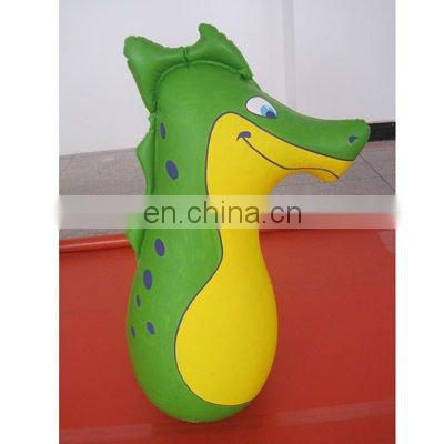 PVC kids inflatable punch bag bop bag