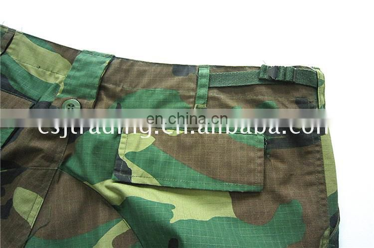 High quality & best price green military uniform fabric china
