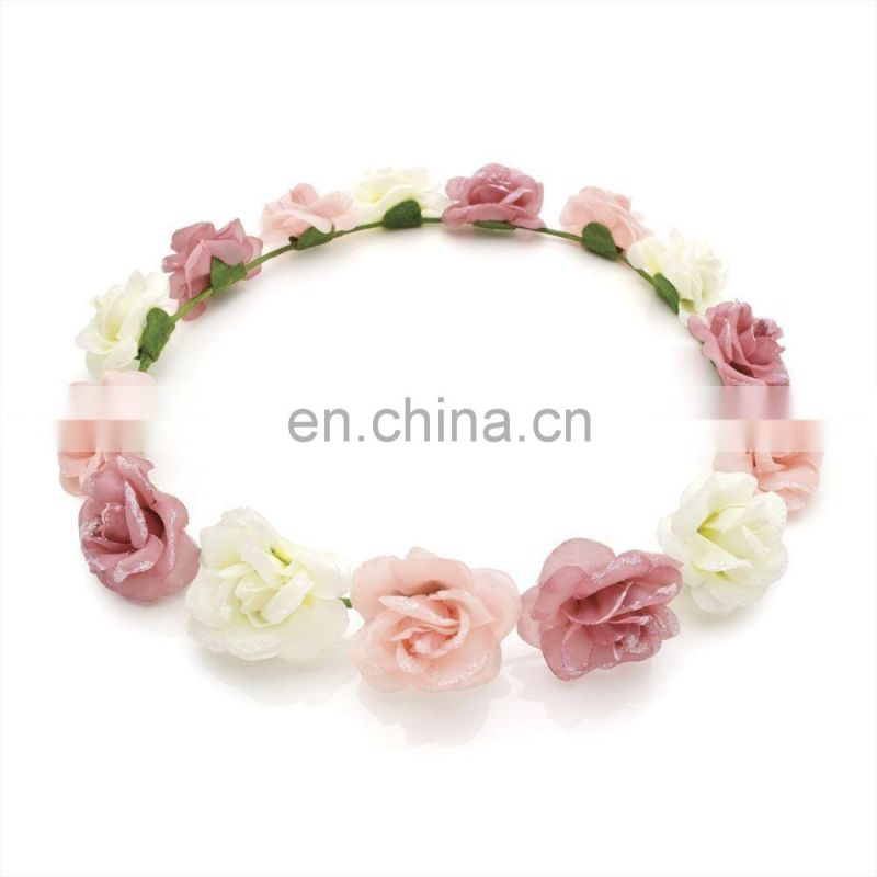 Wedding Floral Flower Headband