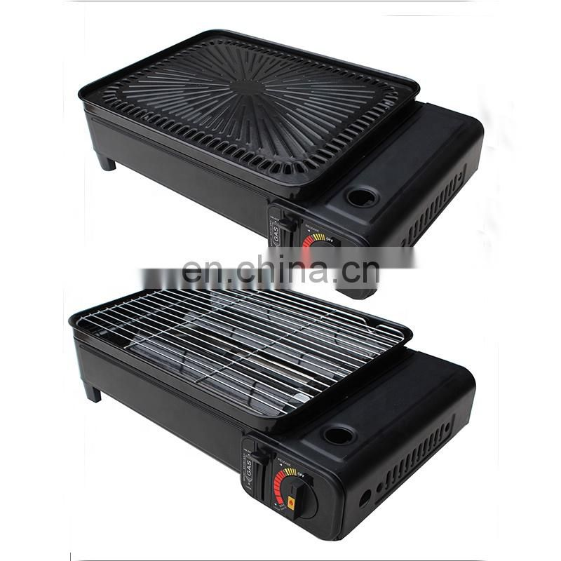 hot sales cool rolled steel and mini BBQ portable camping gas bbq with gas bbq Image