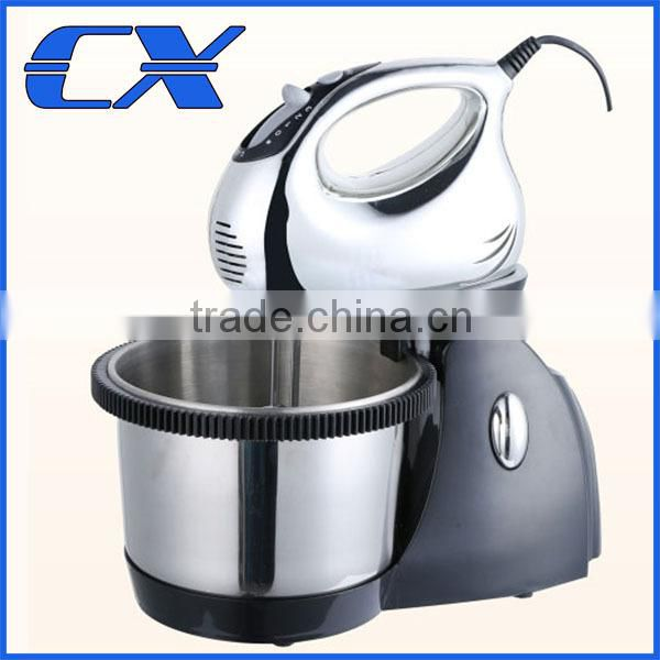 Hot Selling Stand Mixer With Rotating Stainless Steel Bowl