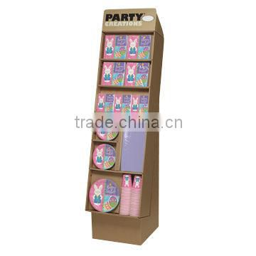 Free Standing Display Unit, Eco-friendly, Strong, Stable, Easy to Assemble, Can be Customized