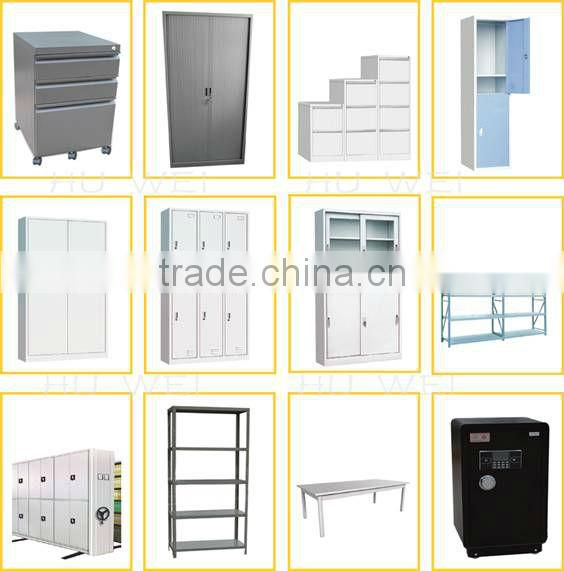 KD structure metal storage cabinet locking
