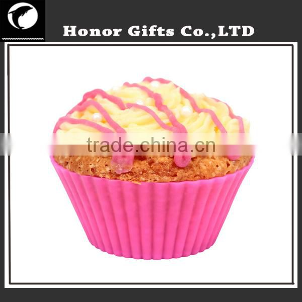 24 pack Reusable BPA Free Non Stick Silicone Cupcake Liners