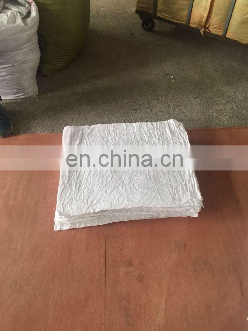 2016 polybag bed sheet wiping rags for wholesale