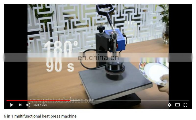 Heating pad for sublimation plate heat press machine part of