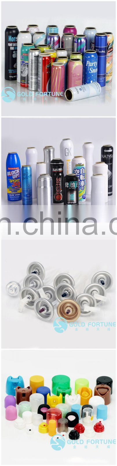 China Manufacturer Parfum Spray Bottle Aerosol Can Aluminum Bottles