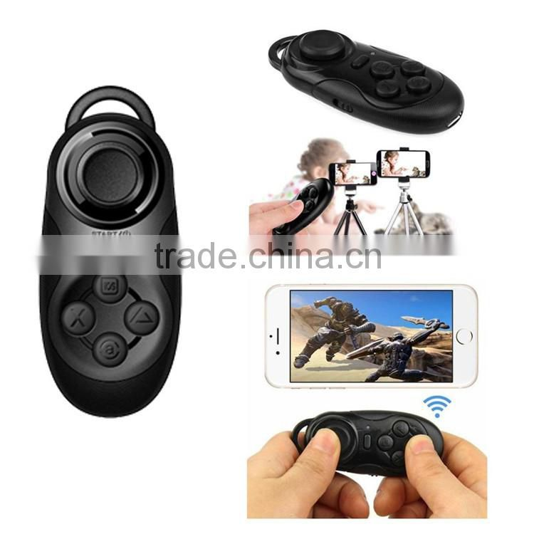 Bluetooth Joystick Gamepad Controller / Selfie Remote Shutter / Wireless Mouse for iPhone Laptop TV Box VR 3D Glasses