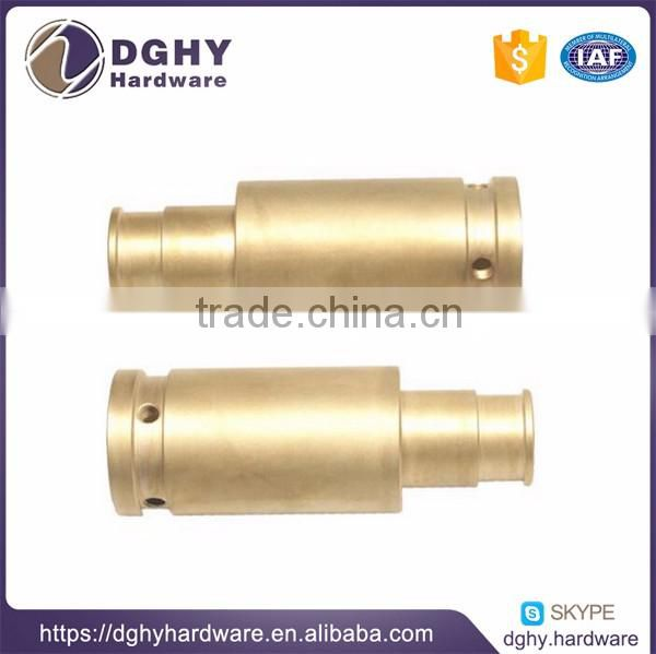 CNC brass turning screwcnc metal processing parts fabrication service, custom-made parts for machinery fabrication
