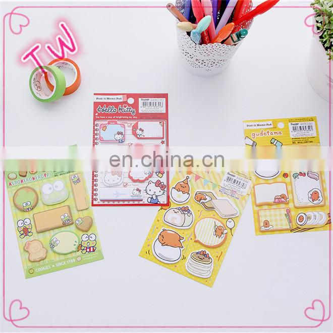 Guatemala popular promotion stationery item wholesale Free Sample Logo Printed Available Cheap sticky note paper pad book