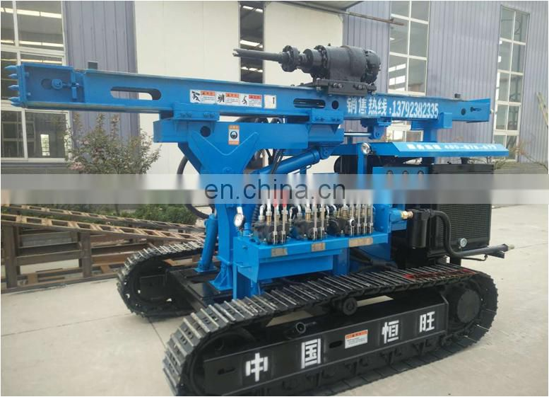 Hydraulic construction auger drilling piles rig / pile driving machine / screw pile driver