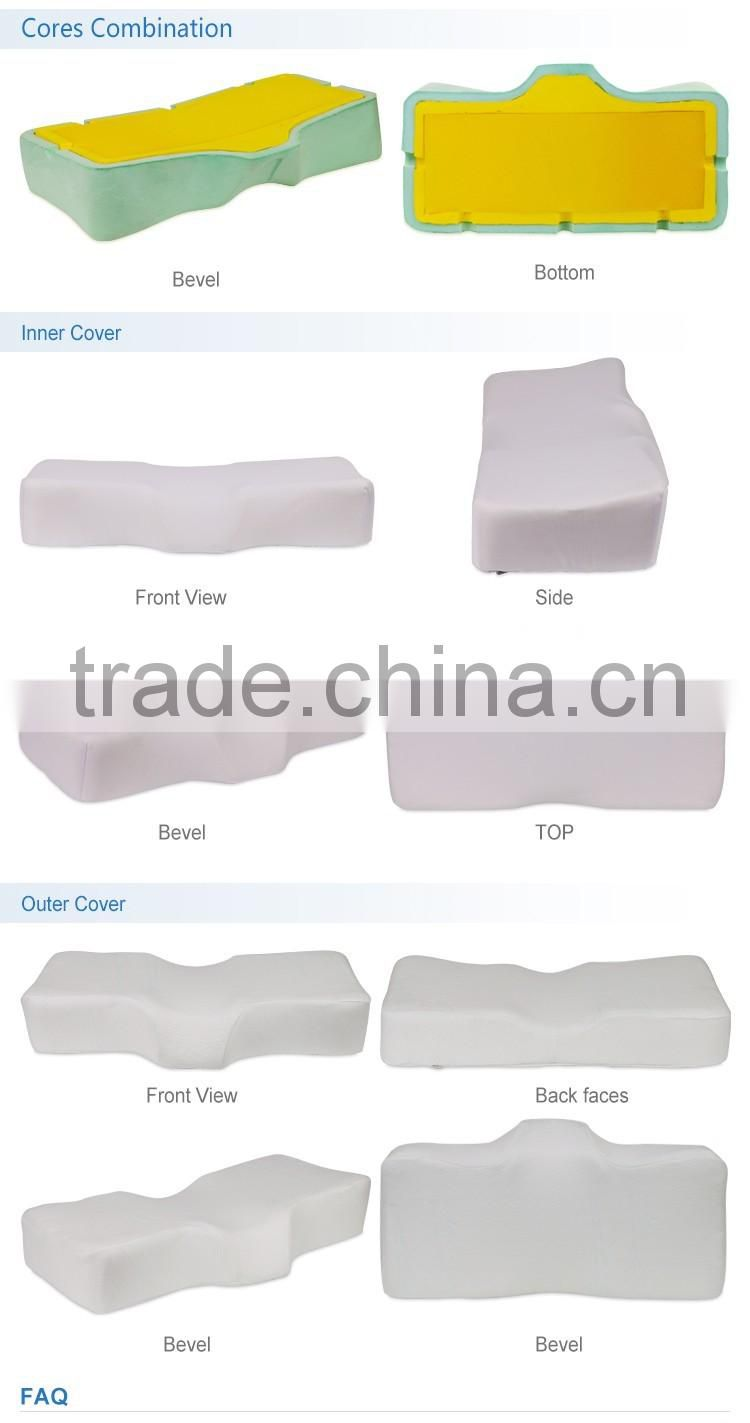 Latest Head, Neck relax promotion gift with high quality memory foam pillows. Customized colorful airpillow