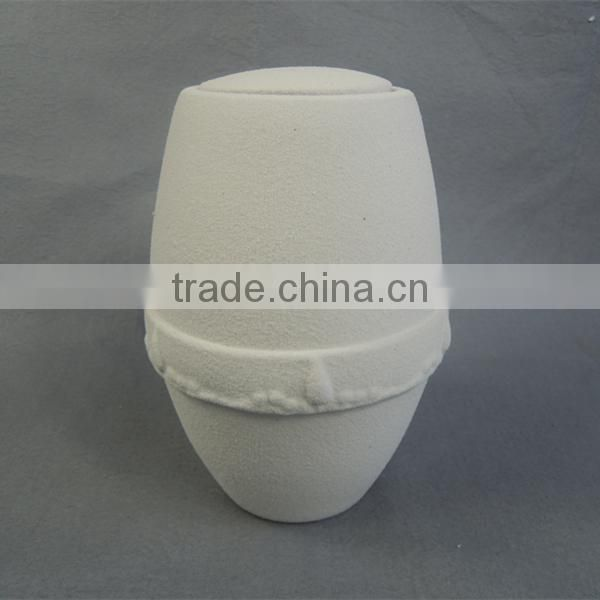 White pure color new style ceramic urn funeral