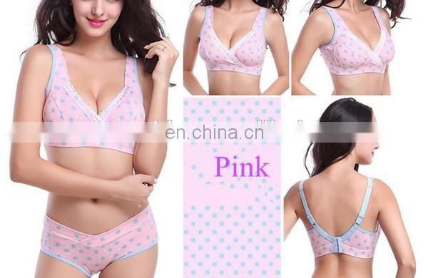 Mother Cross Lingerie Breast Feeding Bras Pregnant Women Underwear