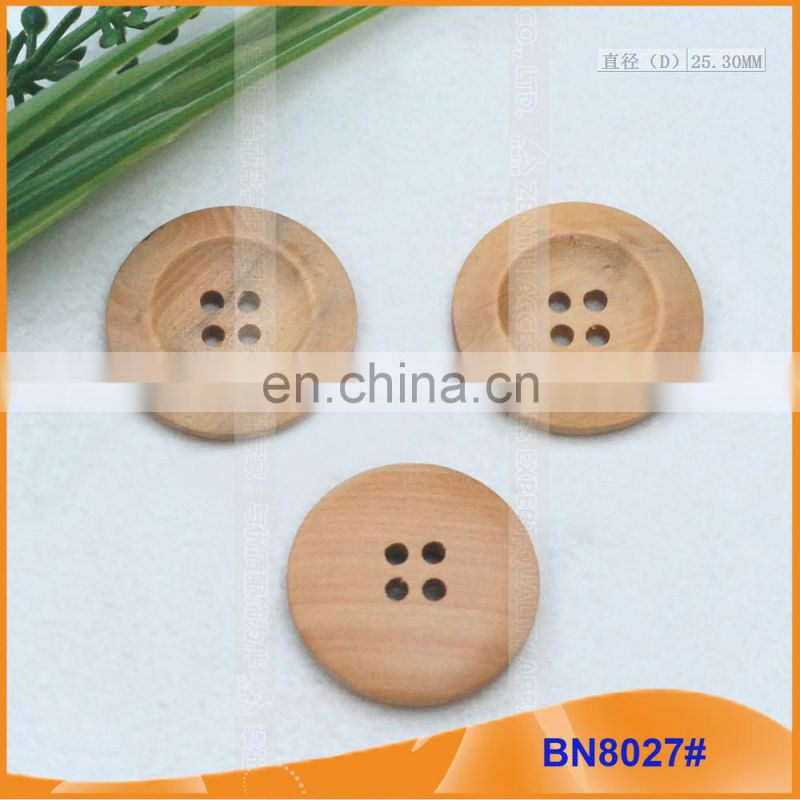 Wood Sewing Button Scrapbooking BN8027