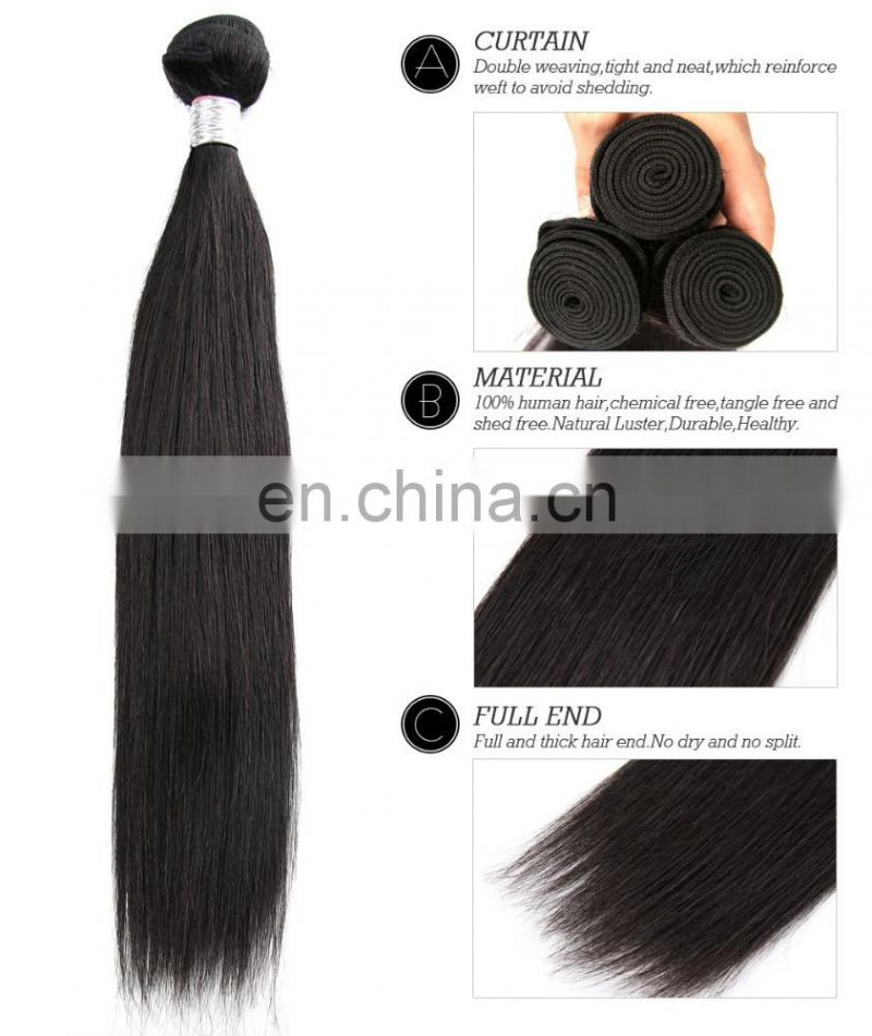 virgin human hair bundles silky straight 100 gram true to weight