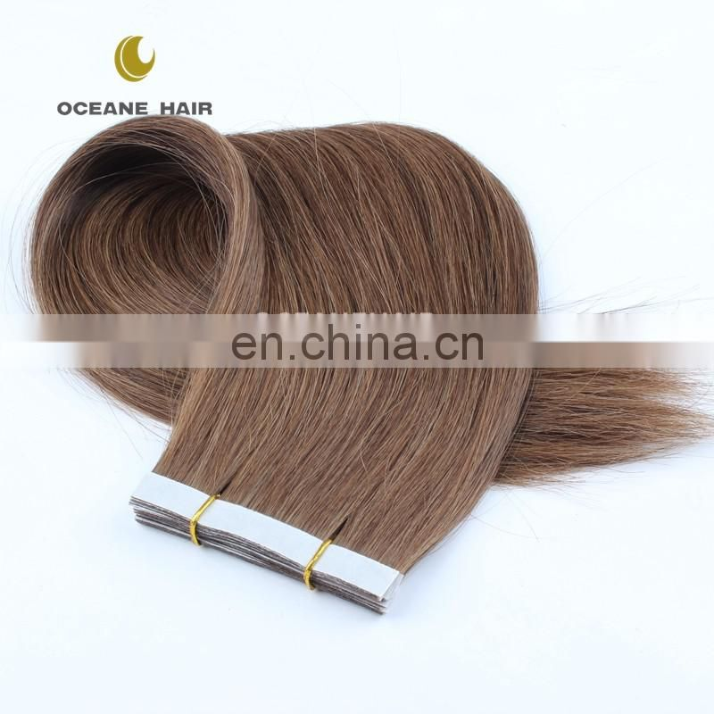Brazilian human remy straight hair extensions blue virgin hair,Virgin Brazilian Tape Hair Extension