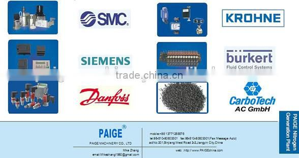 PAIGE--Nitrogen Generating Equipment Made In JIANGYIN