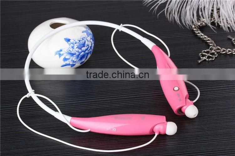 2015 factory price mini neckband wireless bluetooth headphone,bluetooth headset