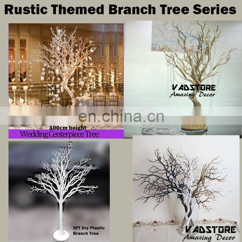 "30""ivory white artificial manzanita tree wish tree table centerpiece decor"