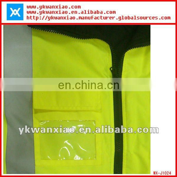 High visibility reflective Jacket with waterproof,Oxford reflective Jacket with High visibility,waterproof reflective Jacket
