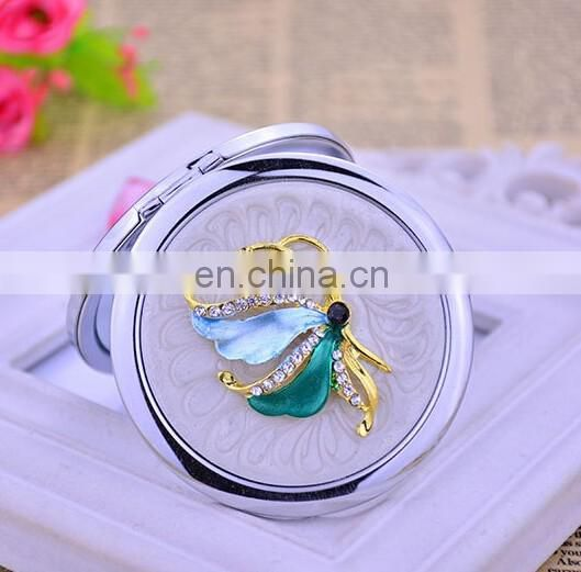 Metal Compact Mirror Gifts Compact Pocket Mirror Decorated Makeup Mirror