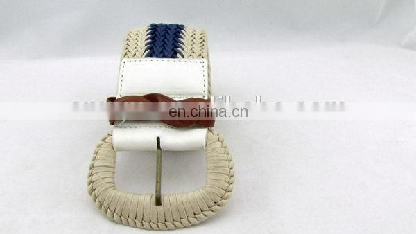 Fashion Leather Braided Belt For Women Leather Flip Case With Belt Clip