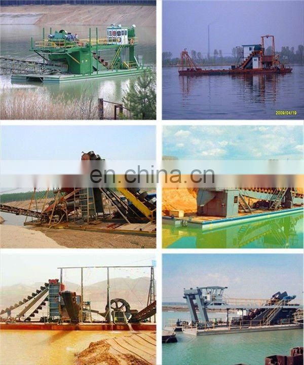 New Chain Bucket Sand Dredging Boat