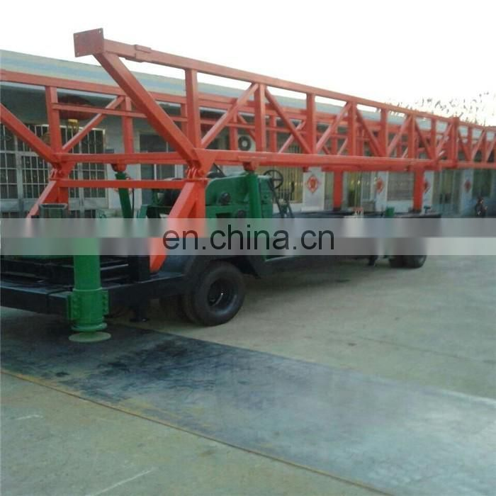 Large hole diameter Borehole Rock Percussion Drilling Rig