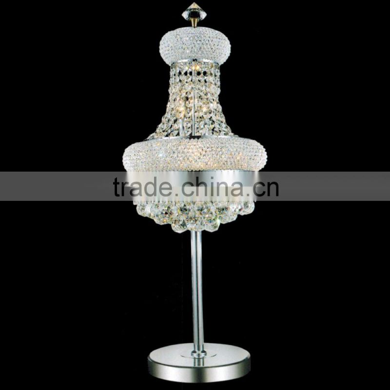 chinese lighting manufacturer modern home decorative table lamp european style table top crystal chandelier centerpieces